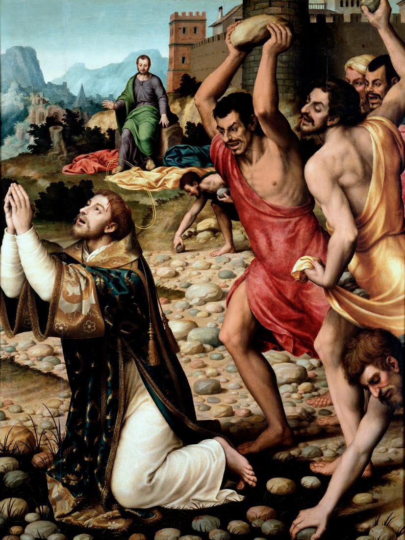 Juan de Juanes: The Stoning of Stephen