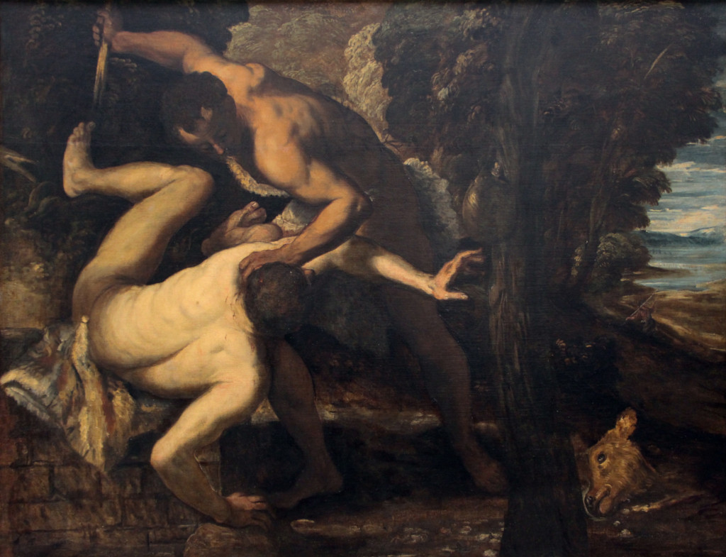 Il Tintoretto: Cain and Abel