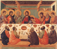 Duccio, Supper