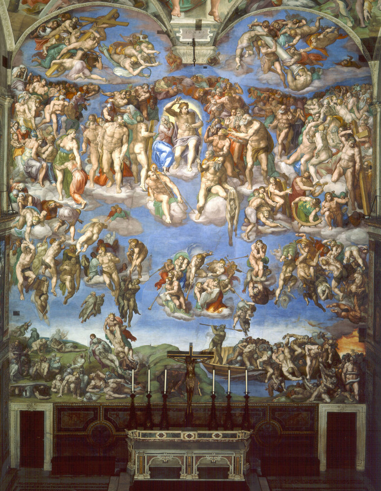 Michelangelo Buonarroti: The Last Judgement