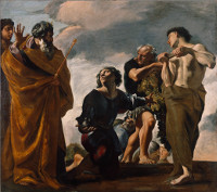 Giovanni Lanfranco: The Messengers Return from Canaan