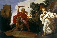 Pieter Lastman: Balaam and the Ass