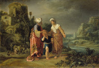 Pieter Lastman: Abraham Casting Out Hagar and Ishmael