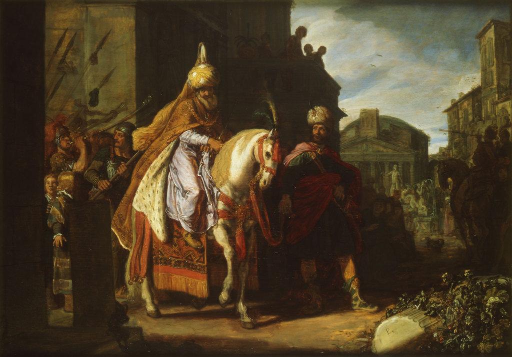 Pieter Lastman: Mordecai's Triumph