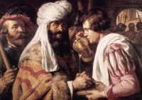 Jan Lievens: Pilate washing his hands in innocence