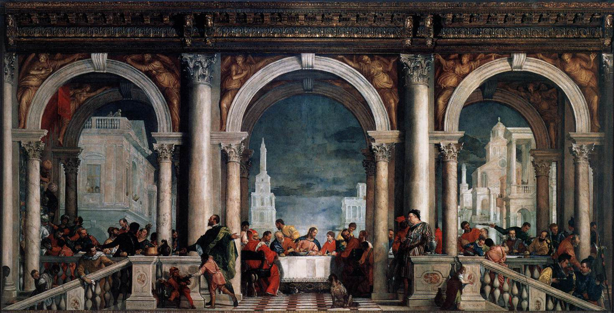 Paolo Veronese: Feast in the House of Levi
