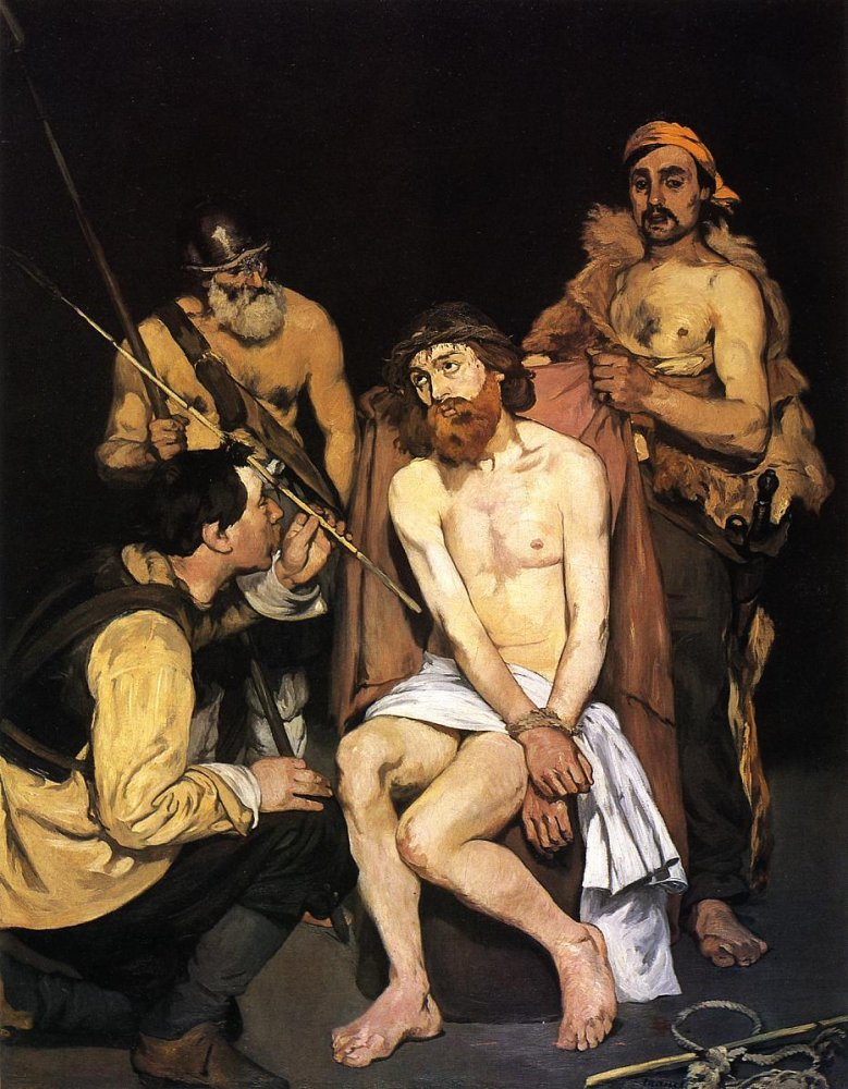 Edouard Manet: Jesus Mocked by Soldiers