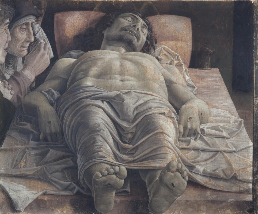 Andrea Mantegna: La Piedad
