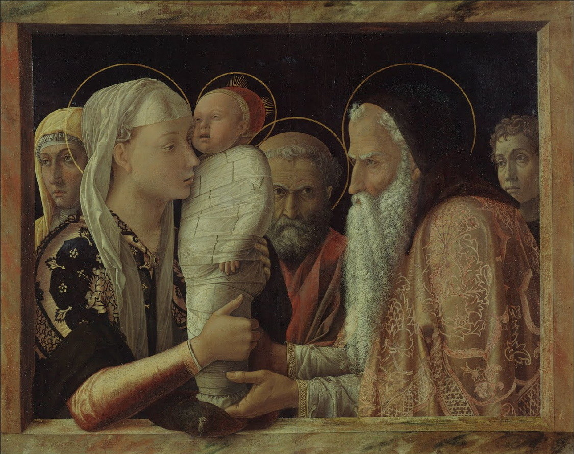 Andrea Mantegna: Presentation at the Temple