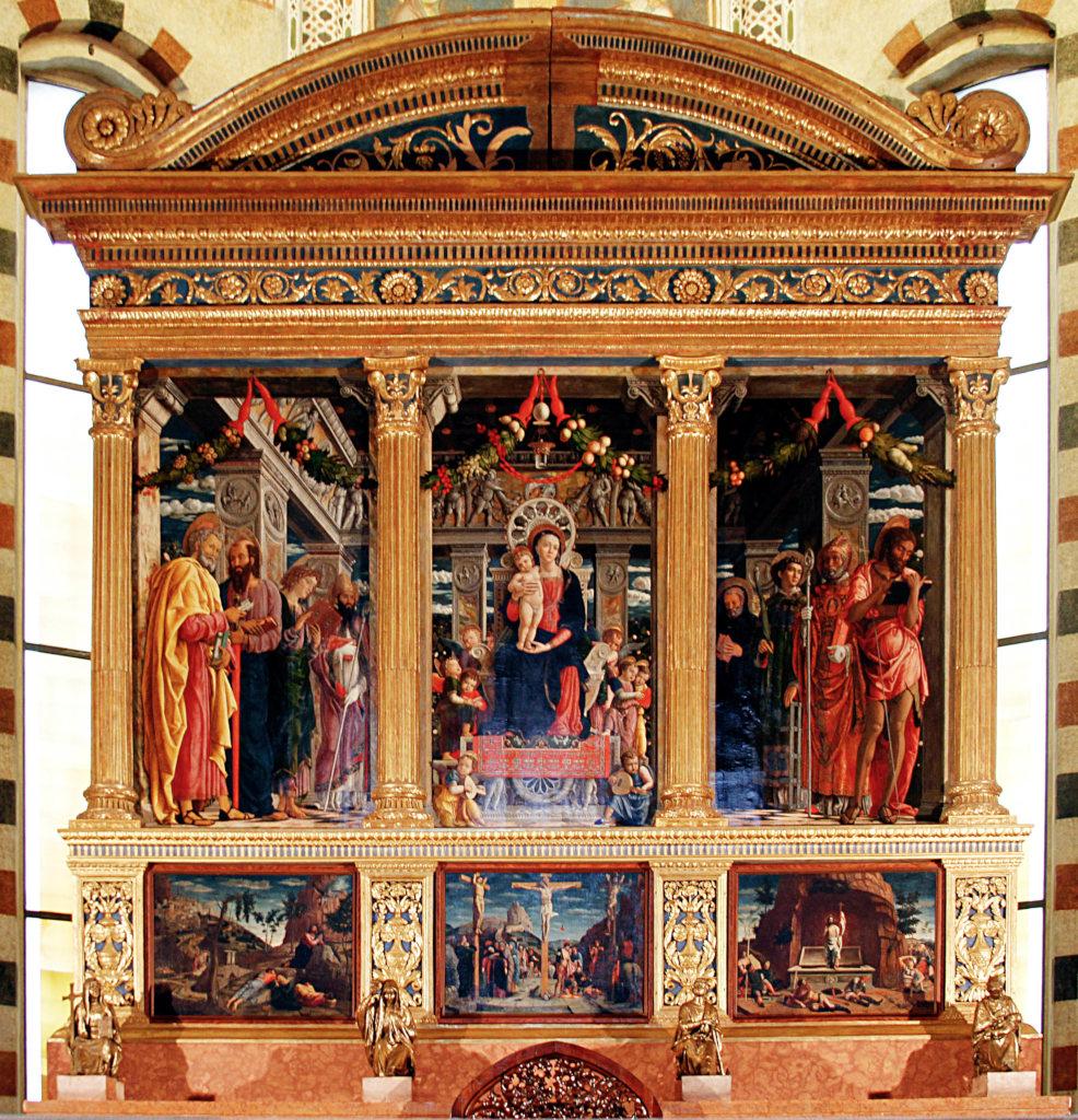 Andrea Mantegna: San Zeno Altarpiece
