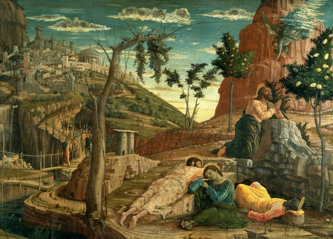 Andrea Mantegna Agony In The Garden San Zeno