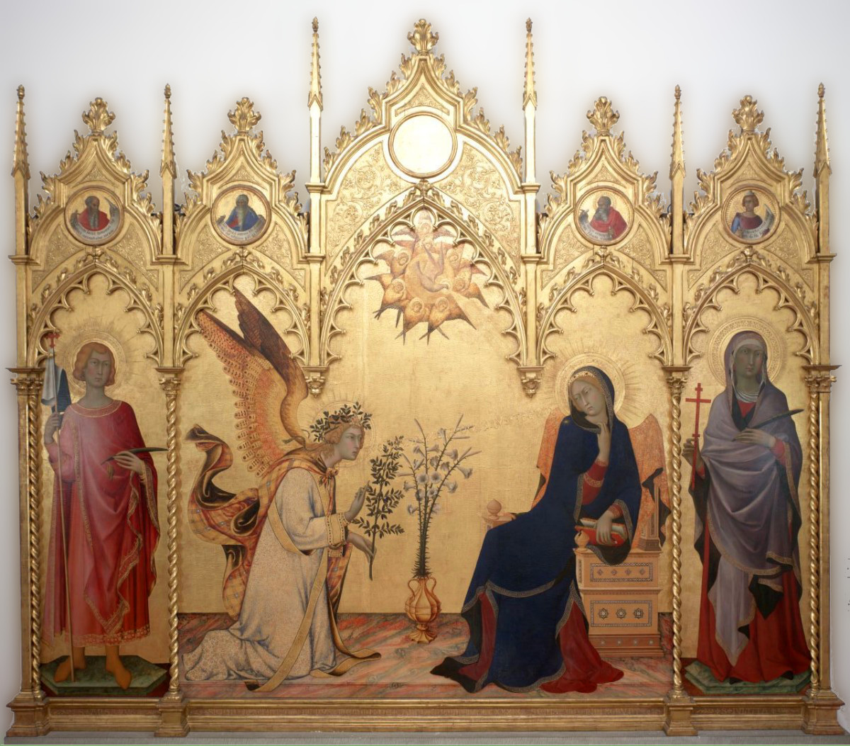 Simone Martini: The Annunciation
