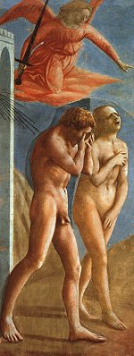 Masaccio: Adam and Eve Expelled from Paradise