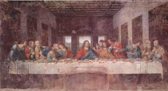 """Image result for """"Last Supper"""" da vinci painting"""