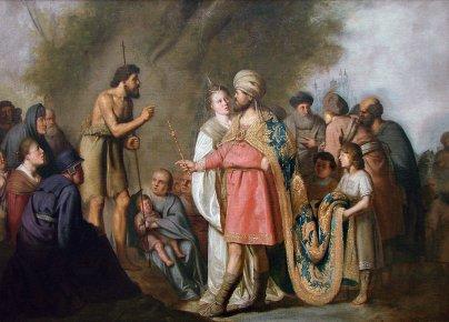 pieter de grebber st john the baptist and herod antipas