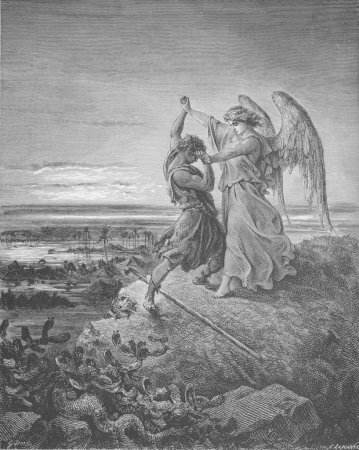 Image result for jacob and the angel