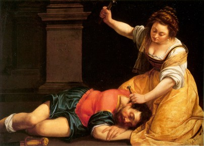 Artemisia Gentileschi Jael and Sisera