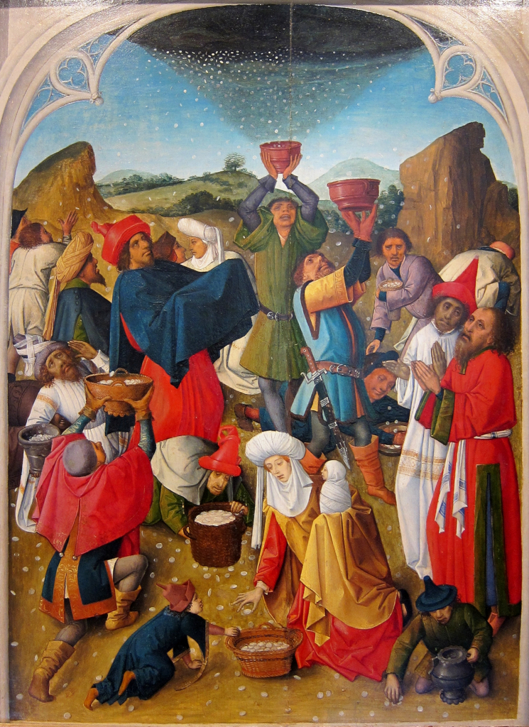 Master of the Gathering of the Manna: The Gathering of the Manna