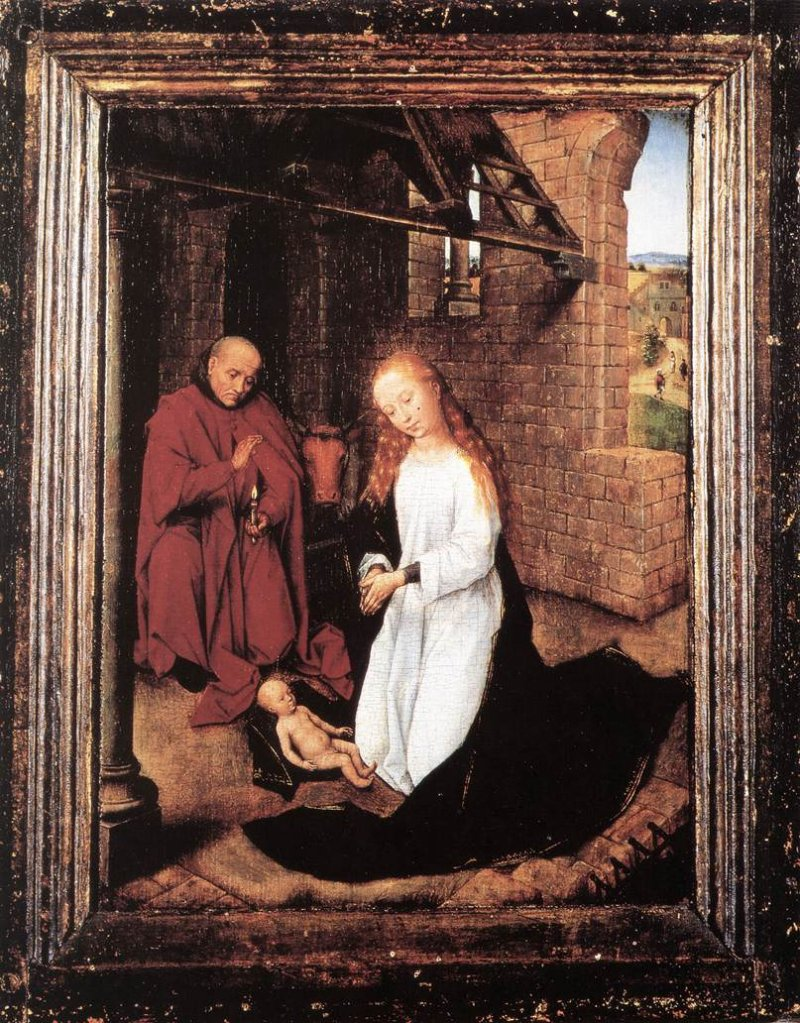 Hans Memling: The Nativity