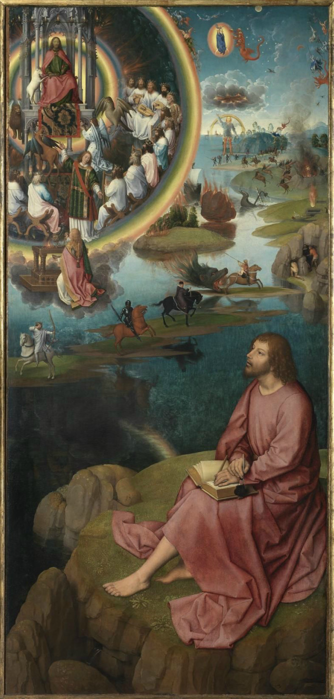 Hans Memling: Saint John on Pathmos