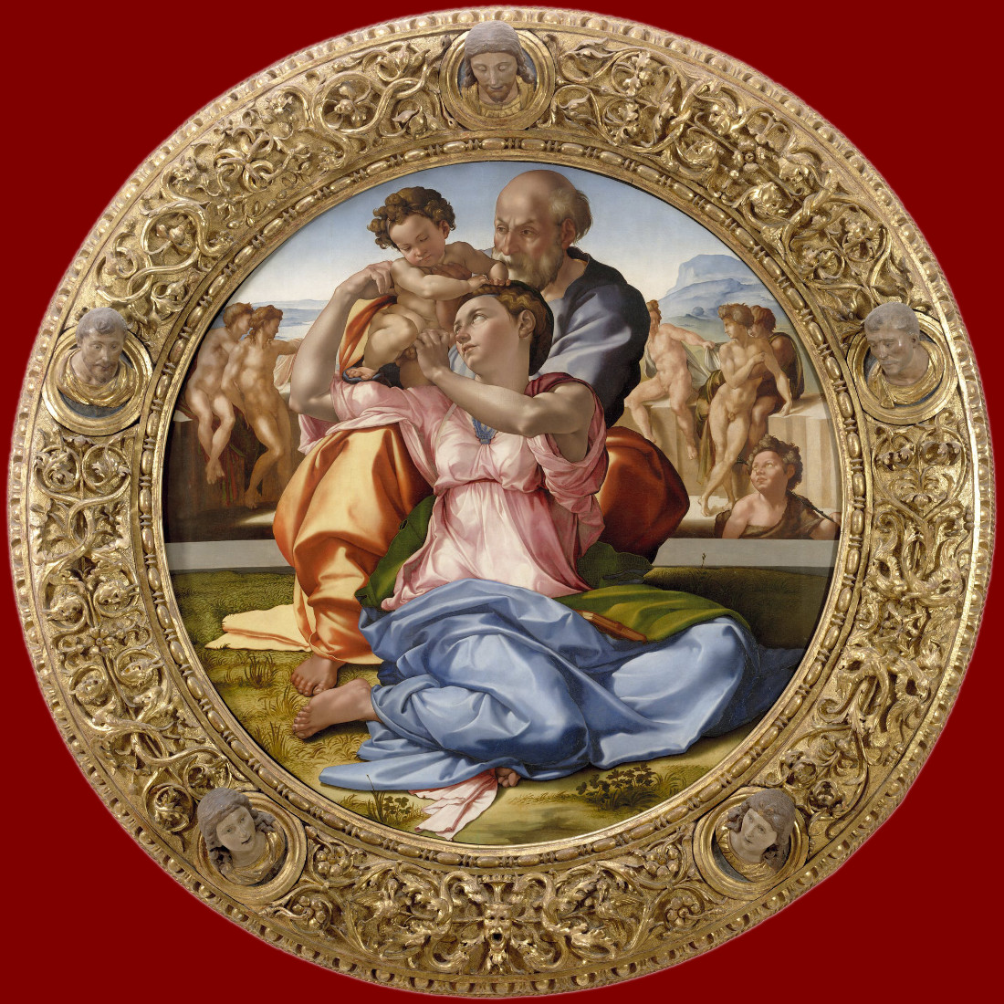 Michelangelo Buonarroti: The Holy Family