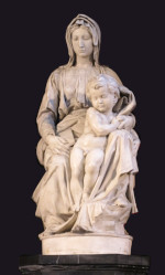 Michelangelo Buonarroti: Madonna with child