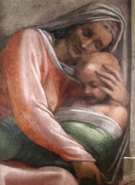 Michelangelo Buonarroti: Ruth and Obed