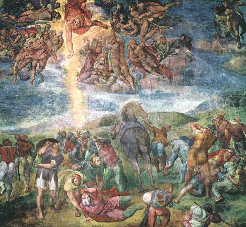 Michelangelo Buonarroti The Conversion Of Saul