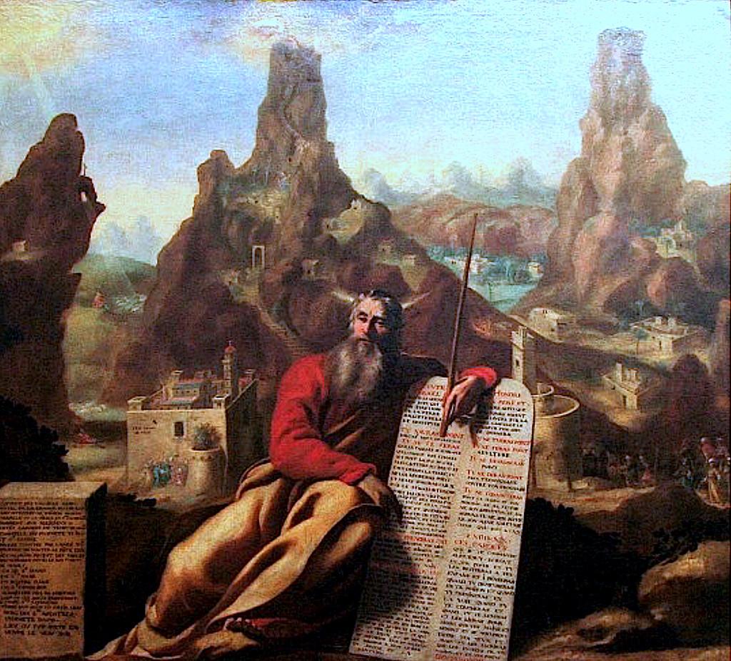 Jacques de Létin: Moses at Mount Sinai