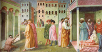 Masolino: Peter Heals the Crippled