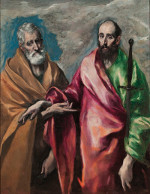 El Greco: Peter and Paul