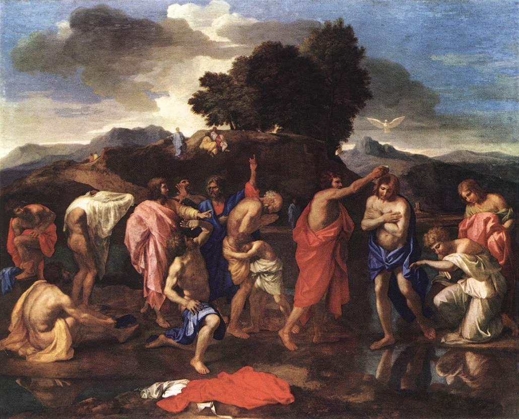 Nicolas Poussin: Seven sacraments: baptism