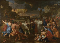 Nicolas Poussin: The Adoration of the Golden Calf