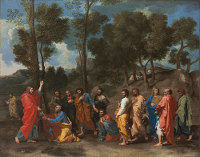 Nicolas Poussin: Seven sacraments: ordination