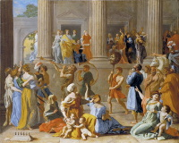 Nicolas Poussin: The Triumph of David