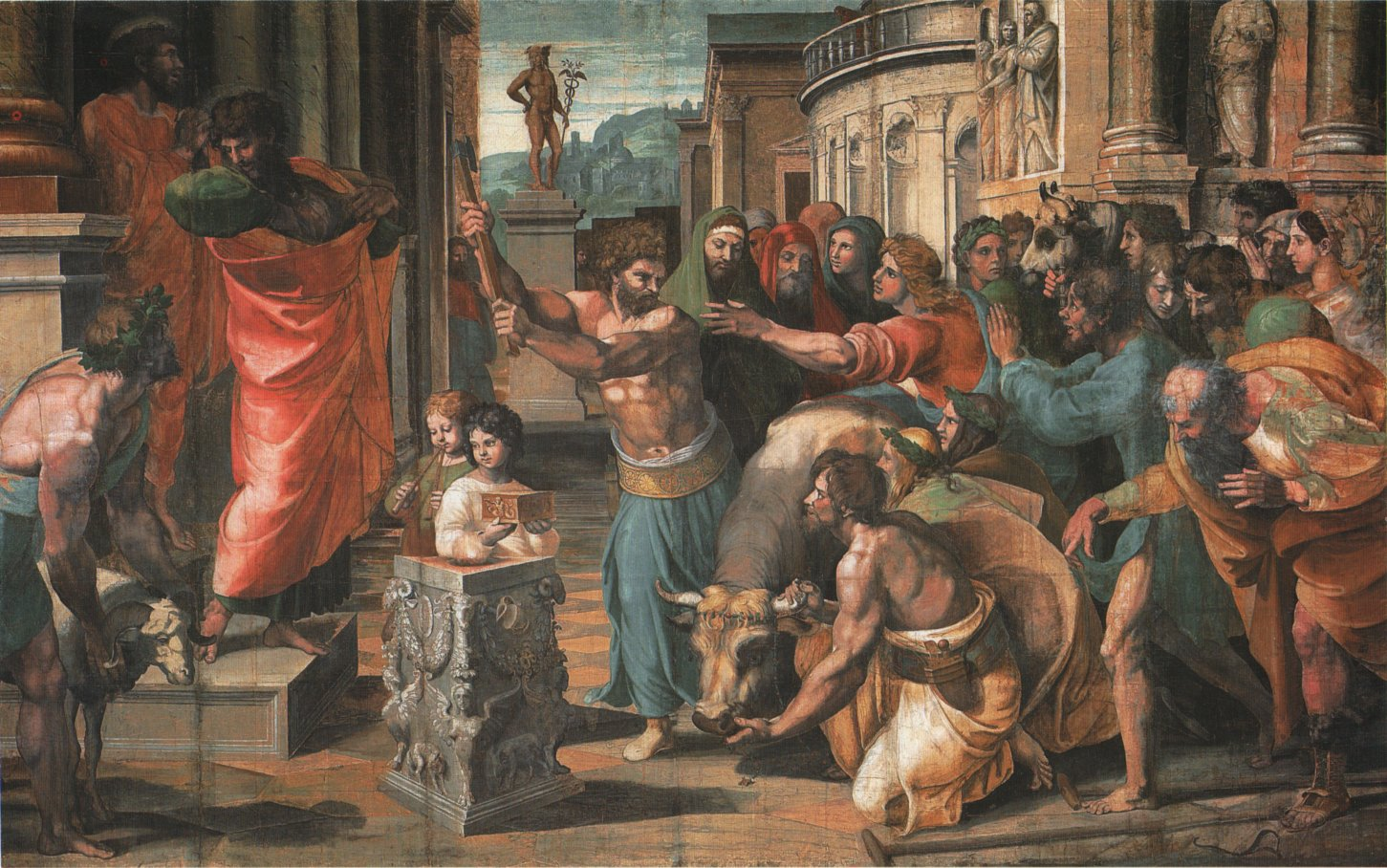 Raphael: The Sacrifce at Lystra