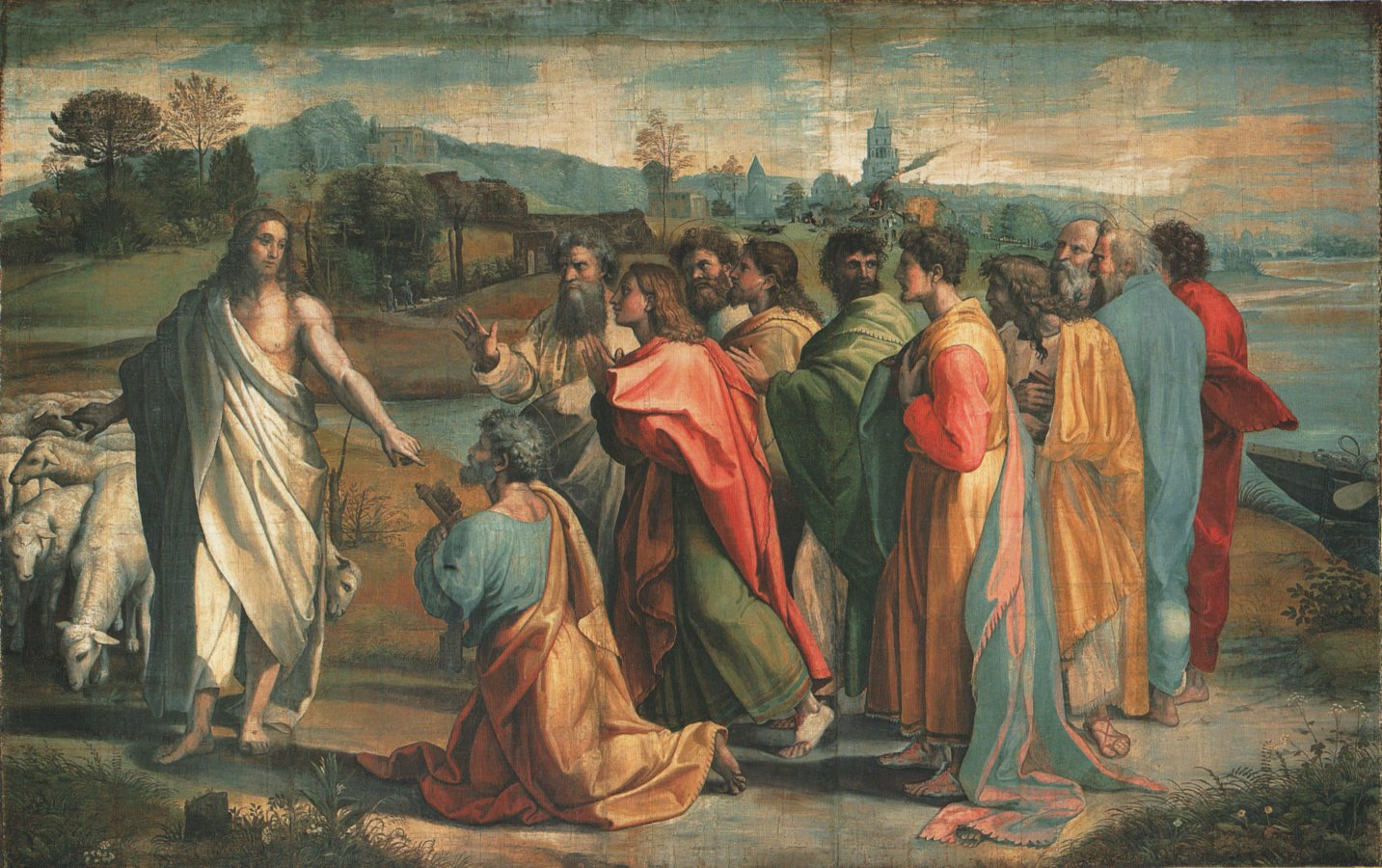 Raphael: Christ's Charge to Peter