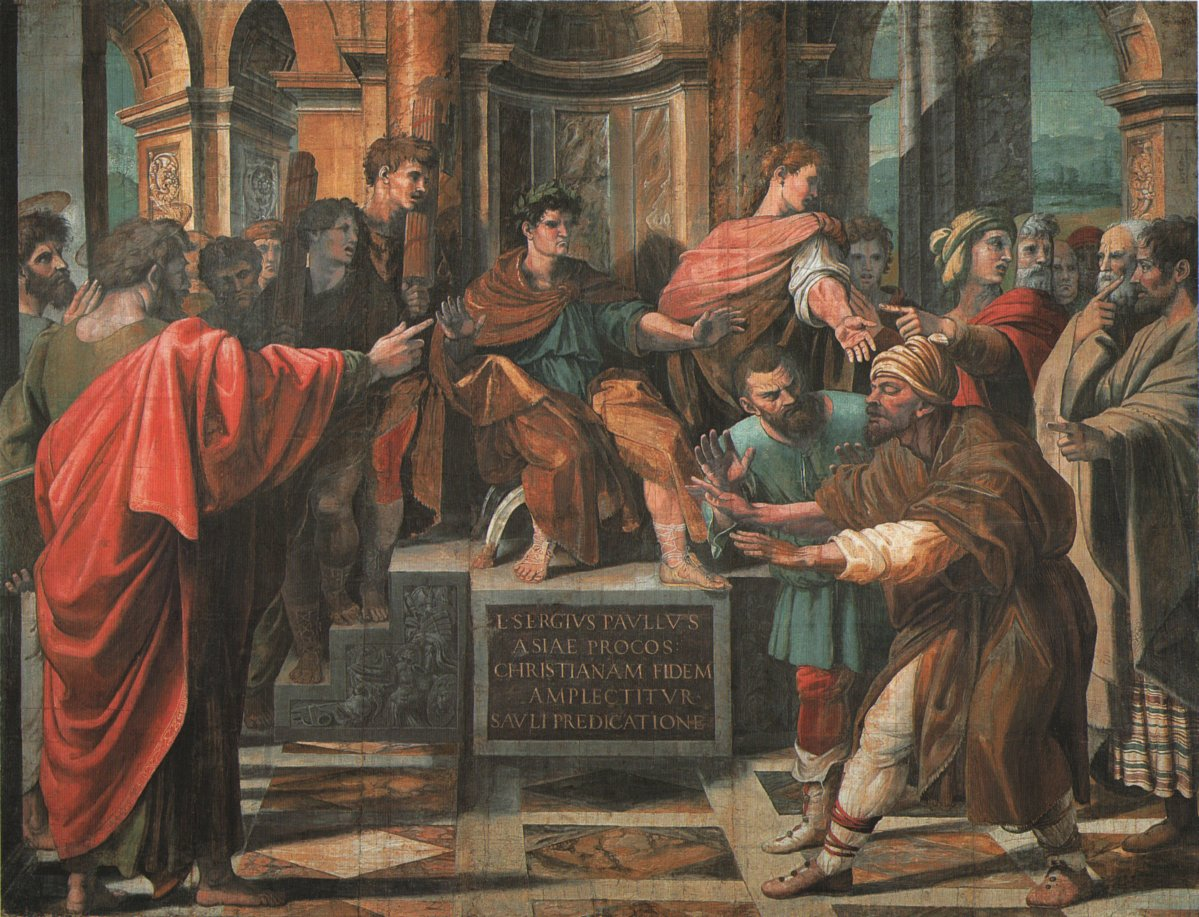 Raphael The Conversion Of Proconsul
