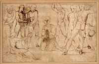 Raphael: The Stoning of St Stephen