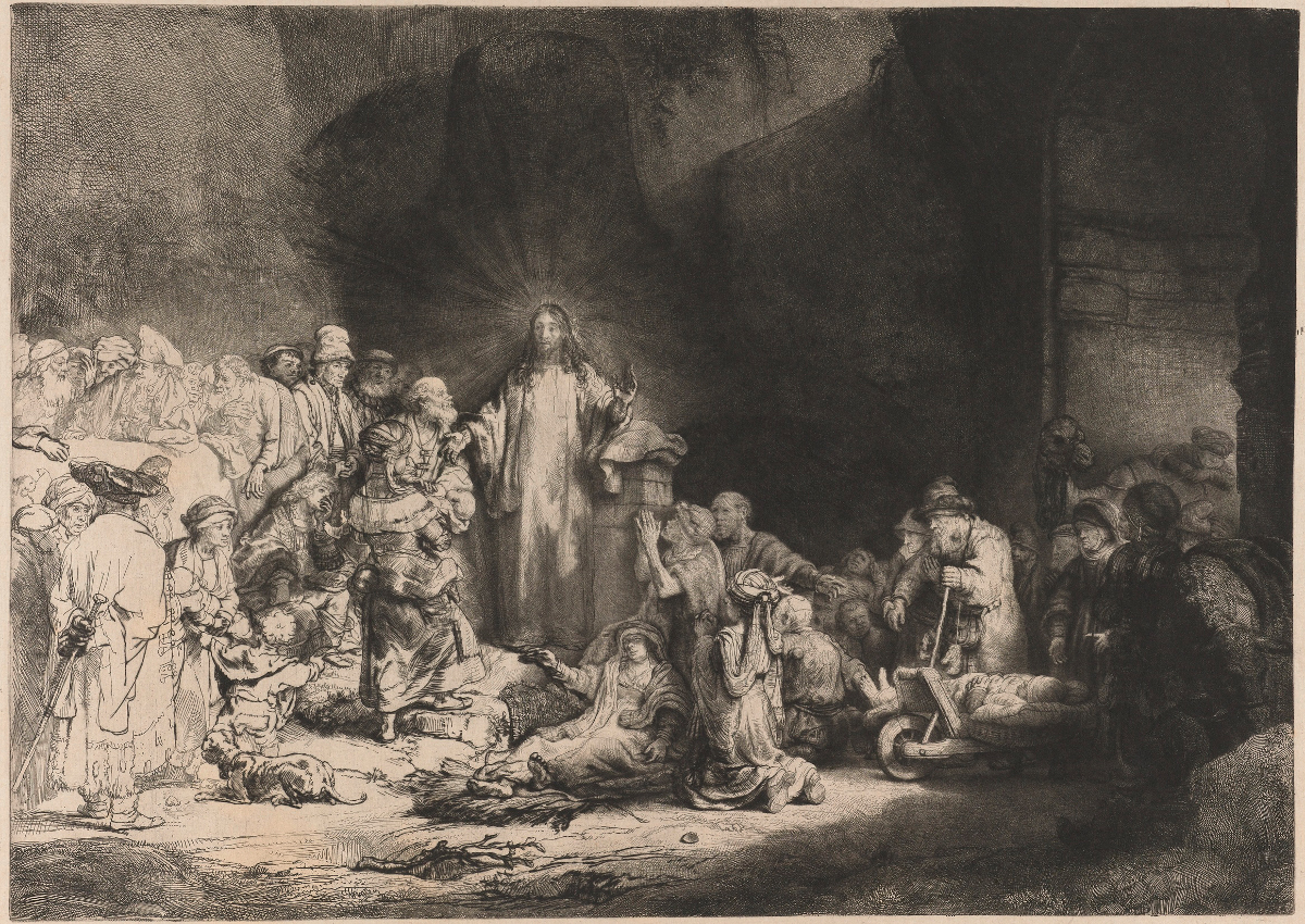 Rembrandt Harmensz. van Rijn: Hundred Guilder Print