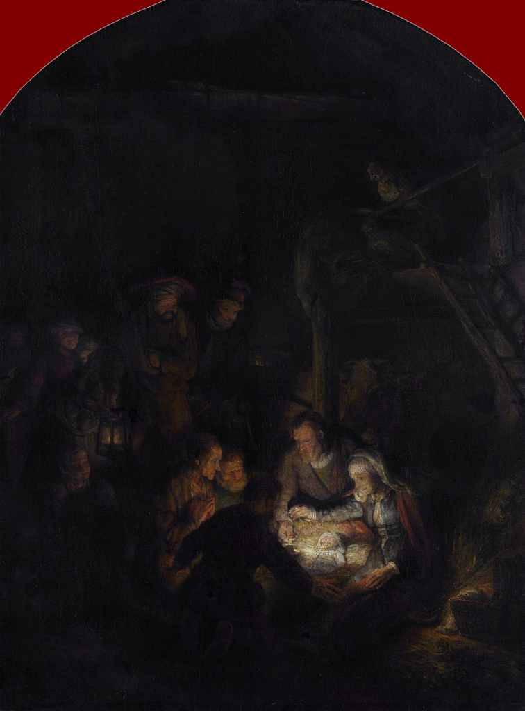Rembrandt Harmensz. van Rijn: The Adoration of the Shepherds (1646 [1])