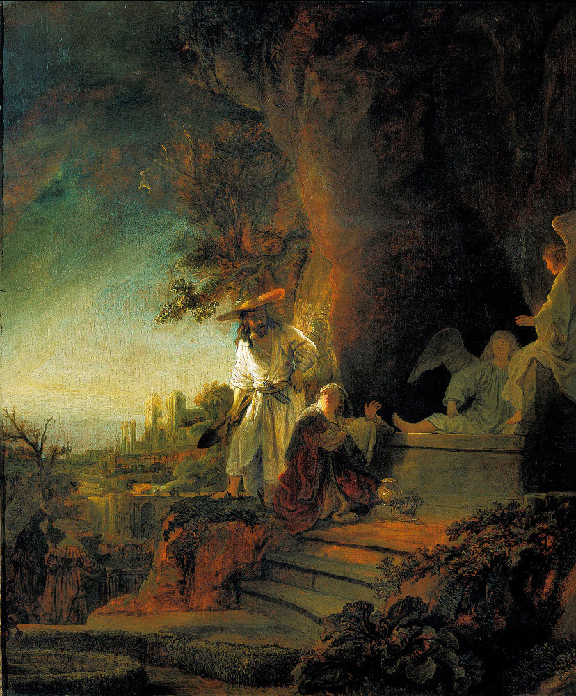 Rembrandt Harmensz. van Rijn: The Risen Christ Appearing to Mary Magdalen