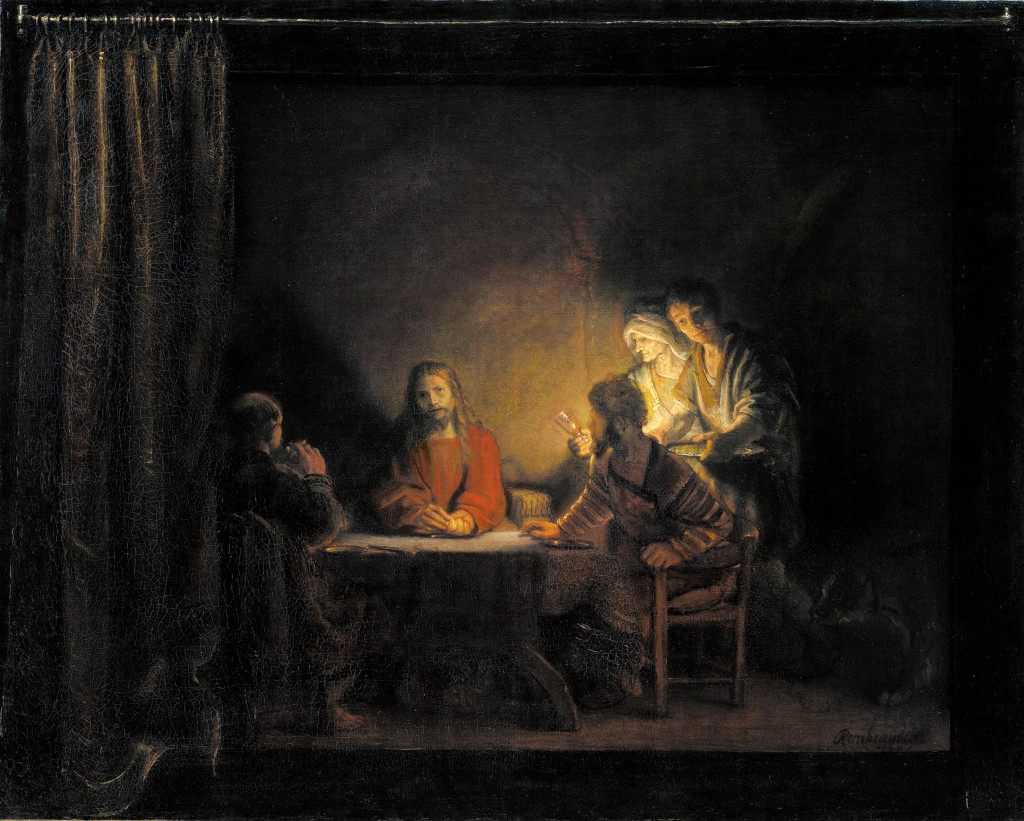 Rembrandt Harmensz. van Rijn: Supper at Emmaus (1648 [2])