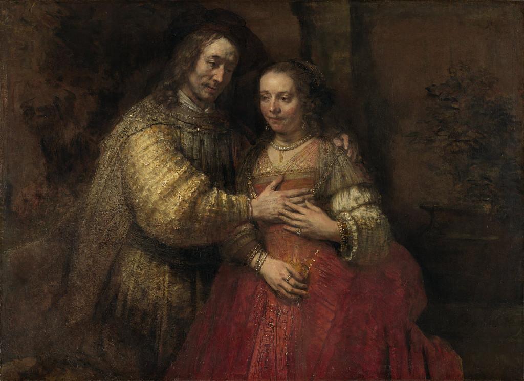 Rembrandt Harmensz. van Rijn: The Jewish Bride