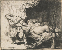 Rembrandt Harmensz. van Rijn: Joseph and Potiphar's Wife