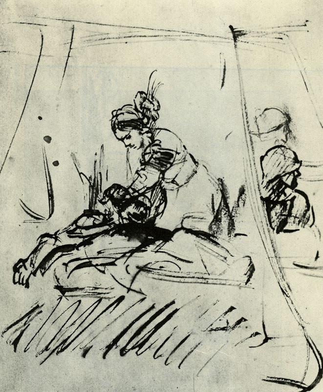 Rembrandt Harmensz. van Rijn: Judith Beheading Holofernes