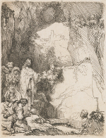 Rembrandt Harmensz. van Rijn: The Raising of Lazarus (1642)