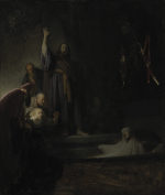 Rembrandt Harmensz. van Rijn: The Raising of Lazarus (1630)