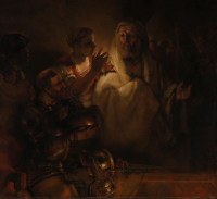 Rembrandt Harmensz. van Rijn: The Denial of Peter