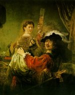 Rembrandt Harmensz. van Rijn: The Prodigal Son Wastes his Inheritance